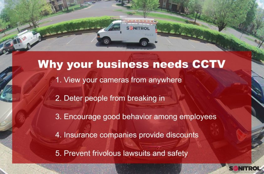 Benefits of Camera Surveillance and CCTV System